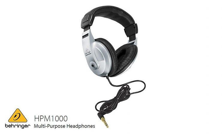 遮音性の高いおすすめのヘッドホン・BEHRINGER(ベリンガー)HPM1000